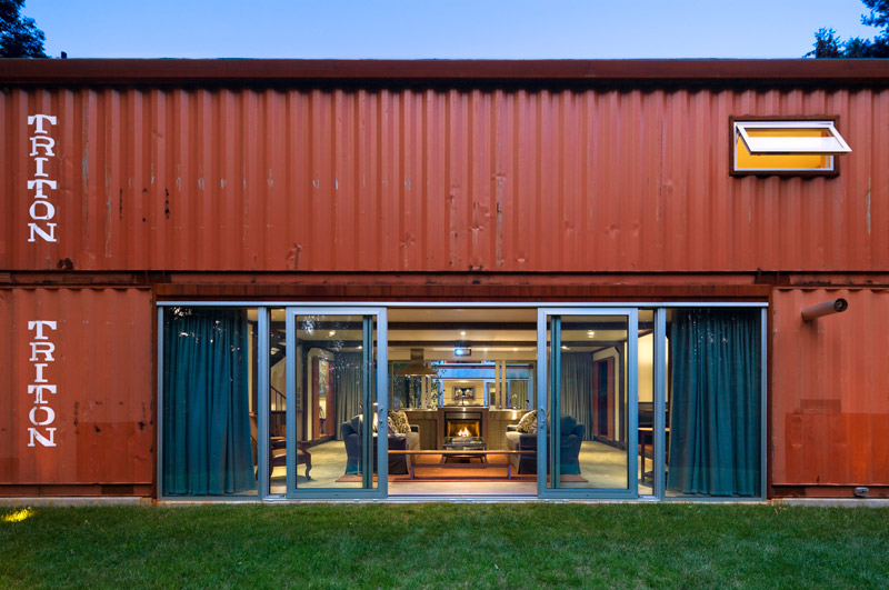 Shipping container houses kinney architecture 2013 2014 - Cargo container home designs ...